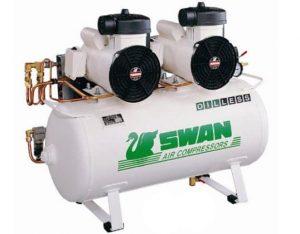 SWAN OIL-LESS AIR COMPRESSORS
