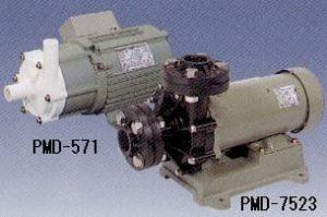 ปั๊มน้ำยาเคมีและสูบน้ำทะเล Sanso PMD Magnet Type