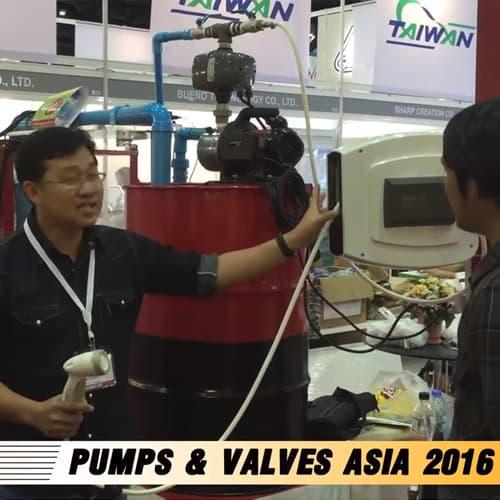 Presentation สายน้ำ สายลม สายไฟTwister ในงาน PUMPS & VALVES ASIA 2016