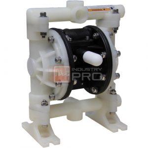 ปั๊มจ่ายสารเคมี/Diaphragm Pump ยี่ห้อ CHEMPRO AIR รุ่น DP15 - plastic pump ( ขนาดท่อ 1/2″-3/4″ )